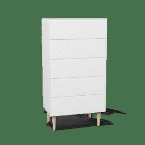 Arty Byrå 60x100 White