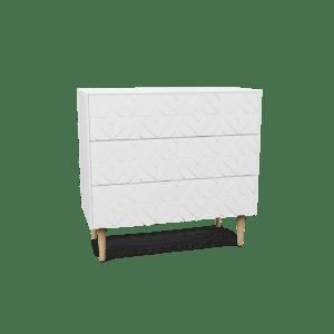 Byrå 80x60 Arty White