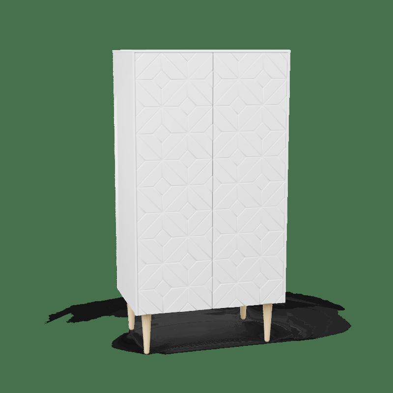 Skåp 60x100 Arty White