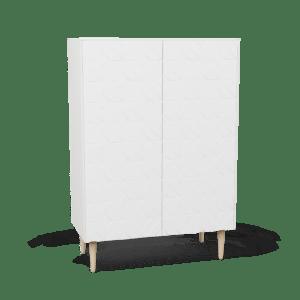 Skåp 80x100 Arty White