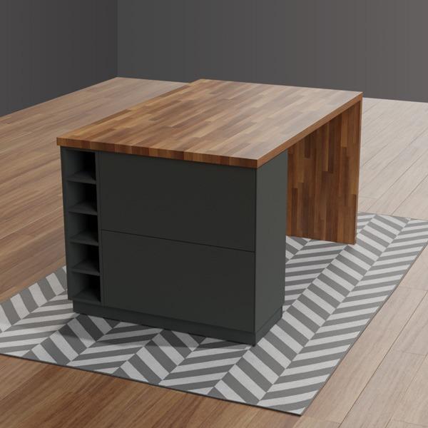 3D-visualisering av kundprojekt.